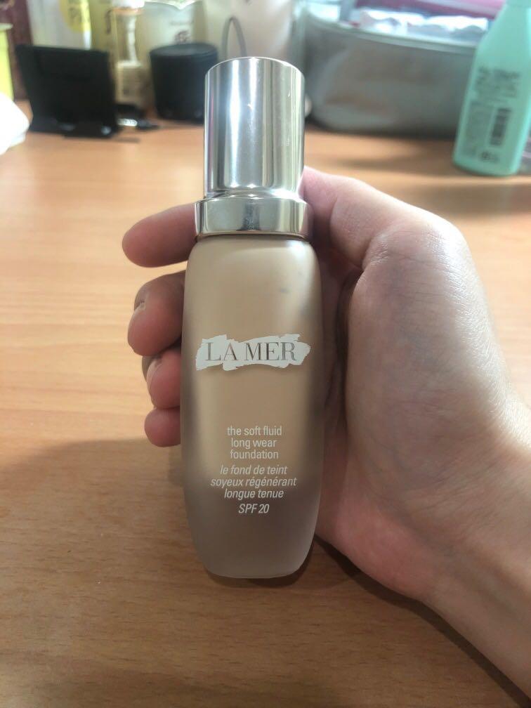 La mer粉底液(購置於專櫃