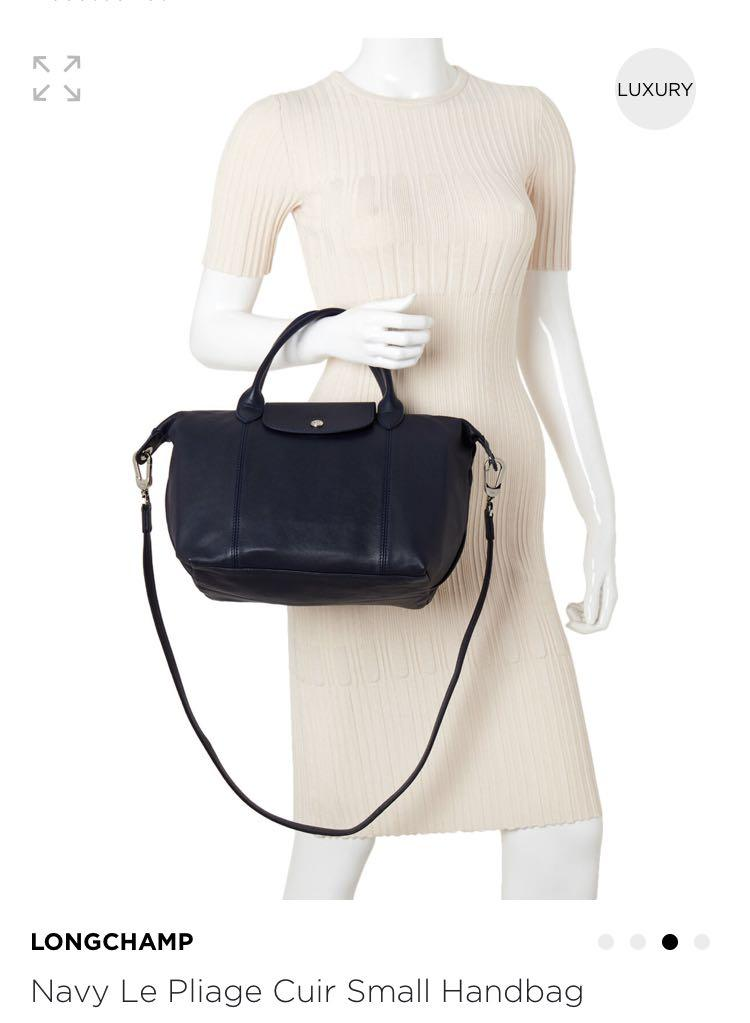Longchamp 真皮包
