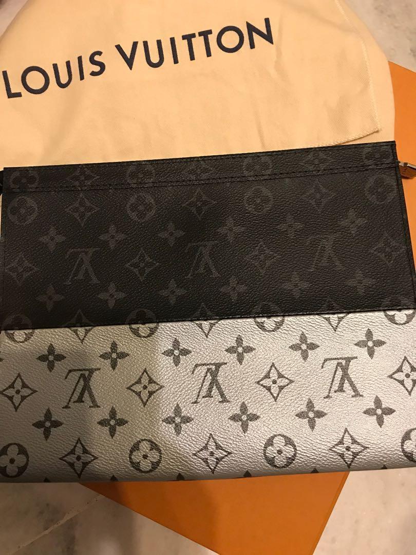 Louis Vuitton monogram Split Pochette bag  authentic gucci off white balenciaga lv virgil