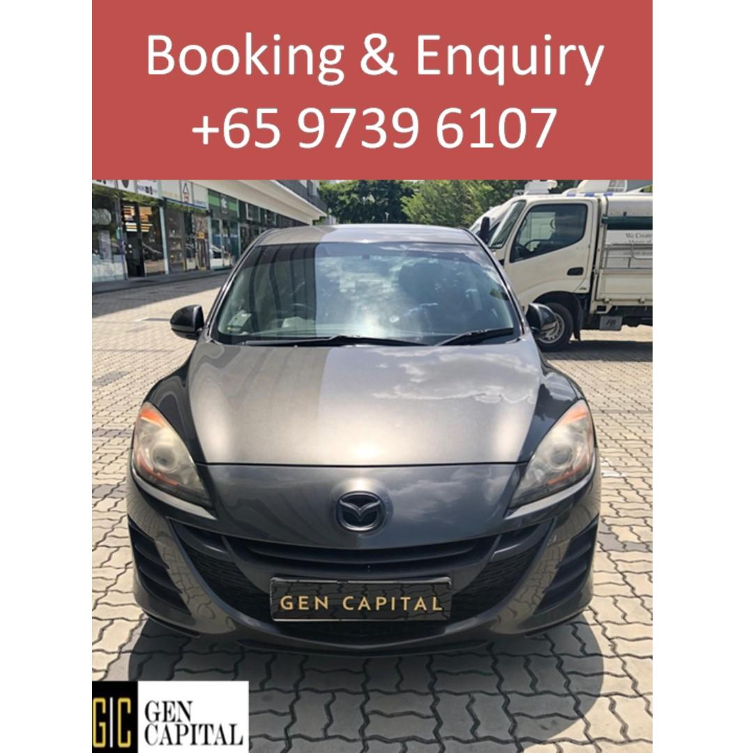 Mazda 3 1.6A - Lowest rental rates, with the friendliest service!