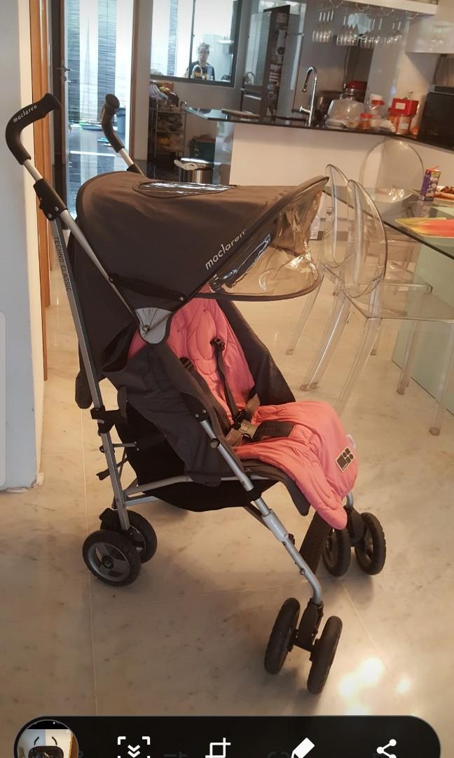 Maclaren pram/stroller