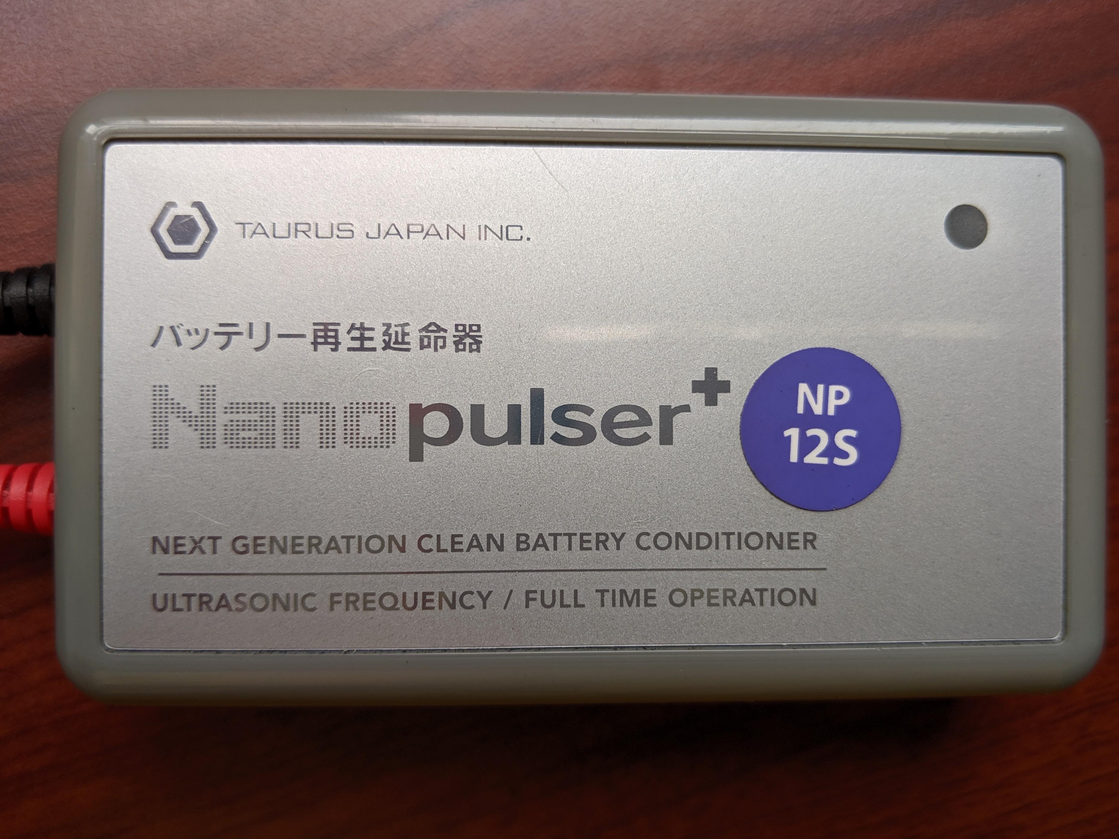 Nanopulser+ NP-12S battery conditioner