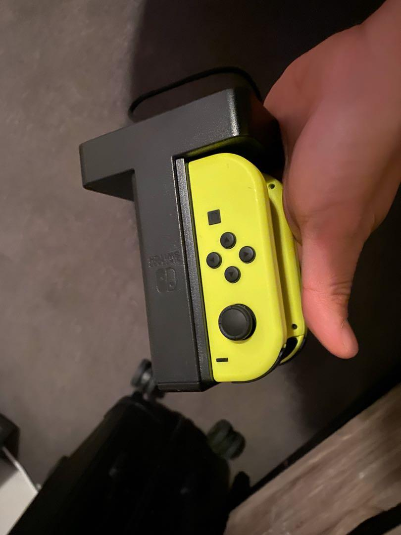 Nintendo Switch Grey with Extra Yellow Joycon