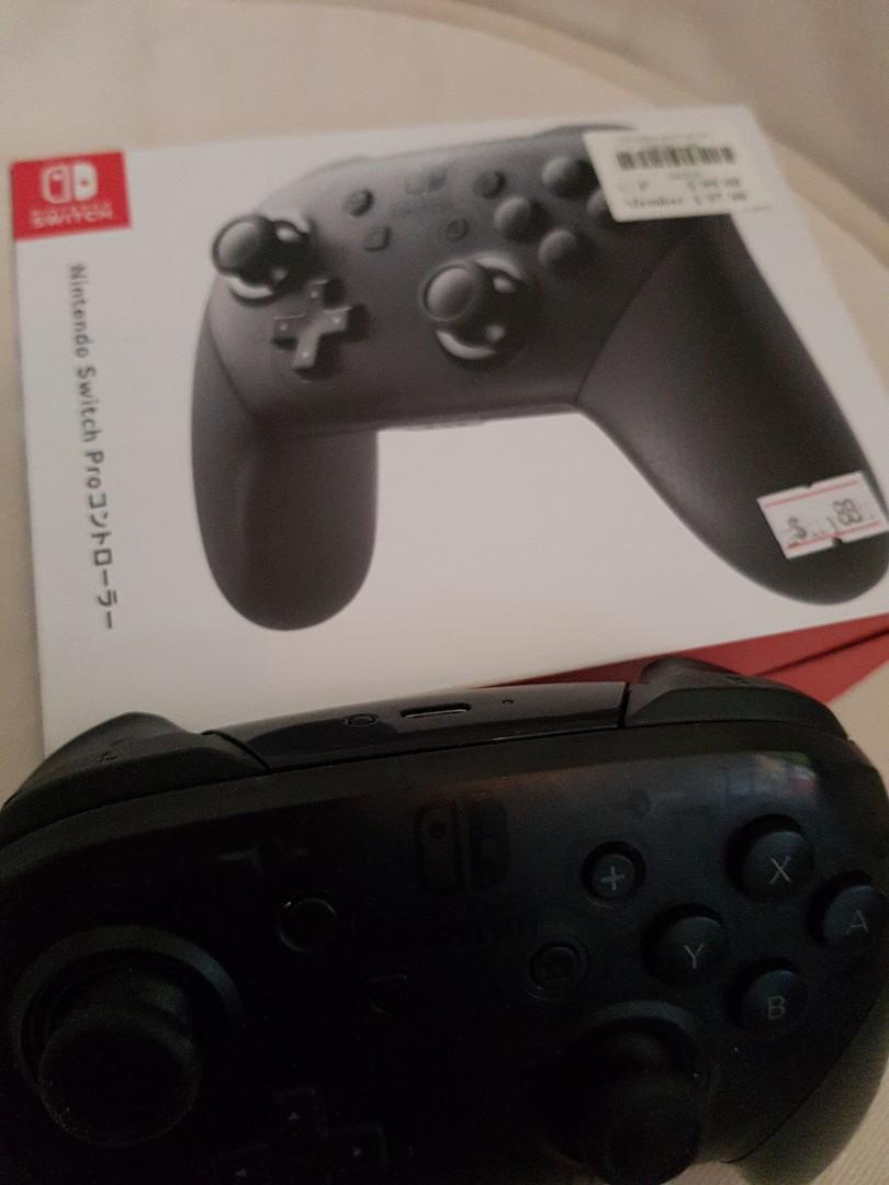 Official nintendo Switch Pro Controller