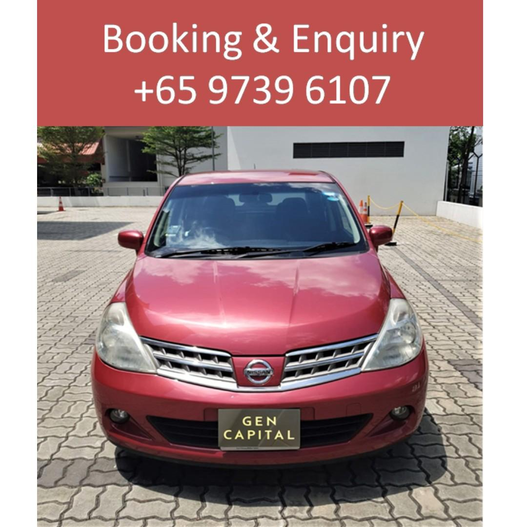 Nissa Latio 1.5A - Lowest rental rates, with the friendliest service!
