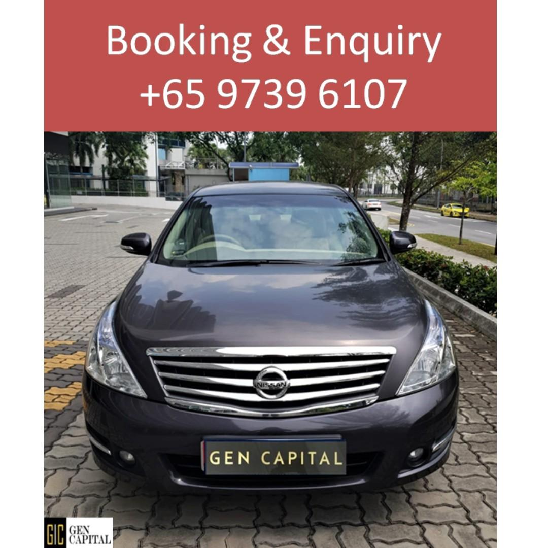 Nissan Teana 2.0A - Many ranges of car to choose from, with very reliable rates!