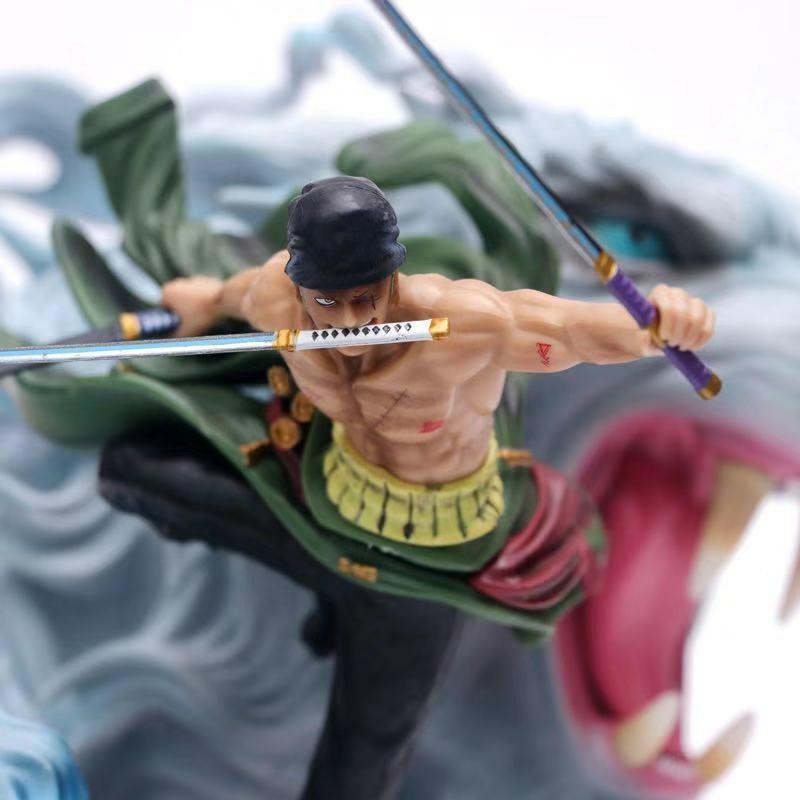 One piece RORONOA ZORO action figure 23cm