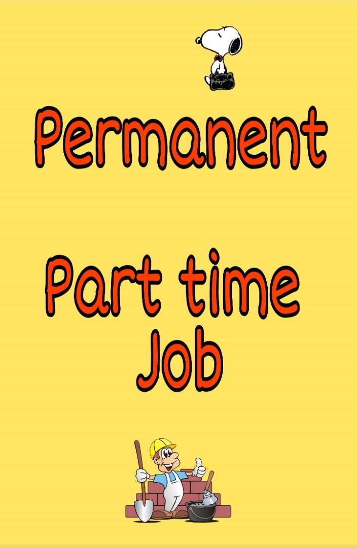 Permanent Part Timer stock packers x 4 for atrium sales fair
