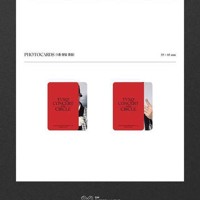 [Photobook] TVXQ - TVXQ! CONCERT -CIRCLE- #with Photobook