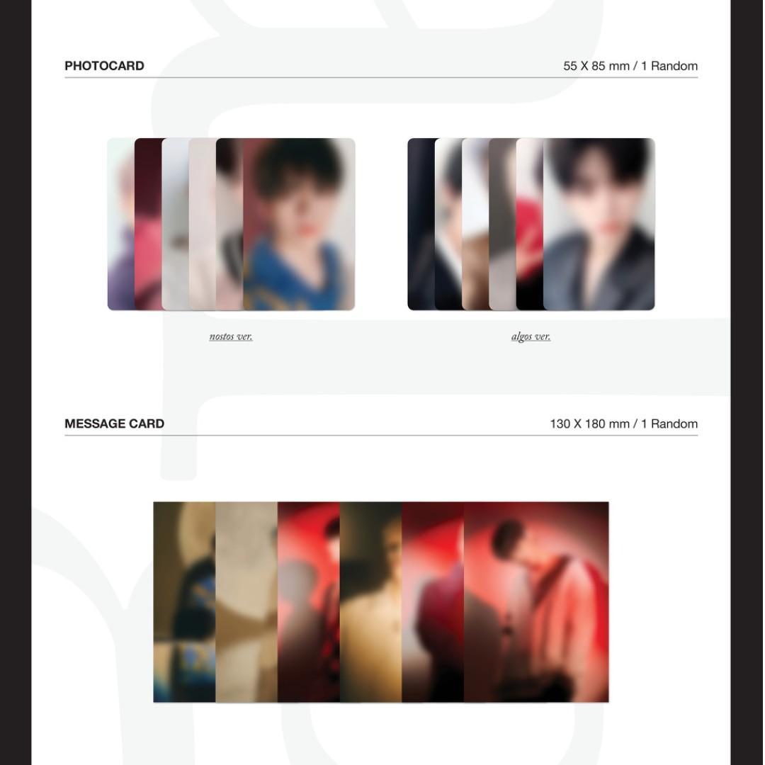 [PRE ORDER] VICTON 5th Mini Album - nostalgia