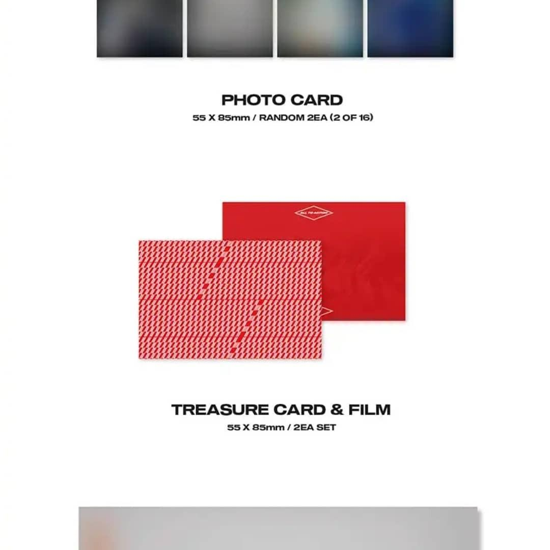 (PRE-ORDER) ATEEZ - EP FIN ALL TO ACTION (1st ANNIVERSARY VERSION)