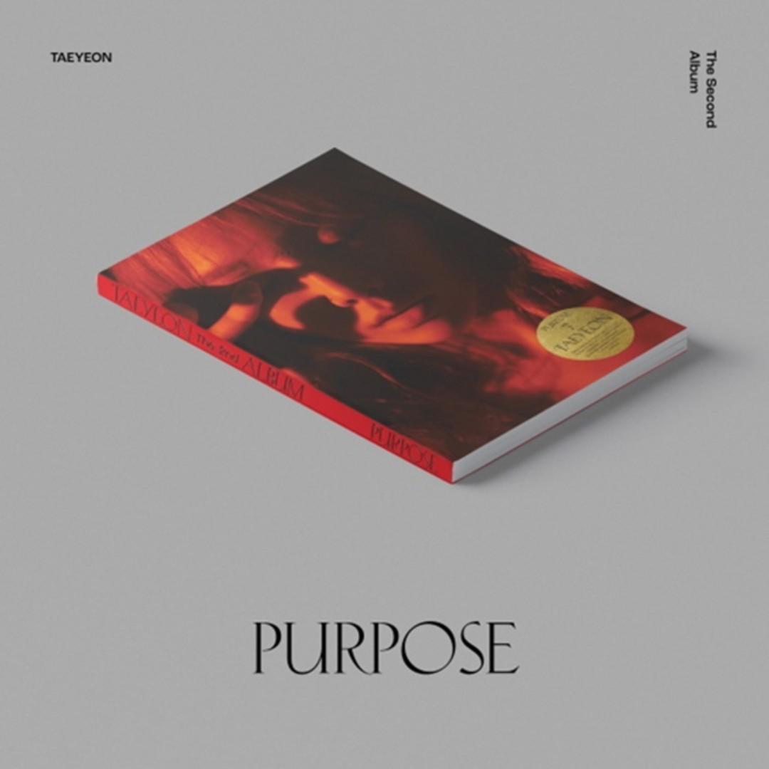 [PREORDER] [DELUXE EDITION] TAEYEON 태연 - PURPOSE / 2ND ALBUM