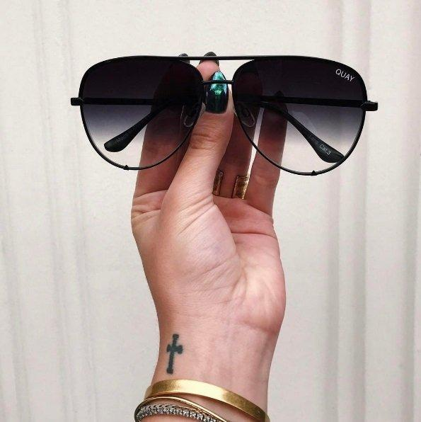 Quay Australia X Desi Perkins High Key Black Fade Brand New & Authentic (NO SWAPS, PRICE IS FIRM)