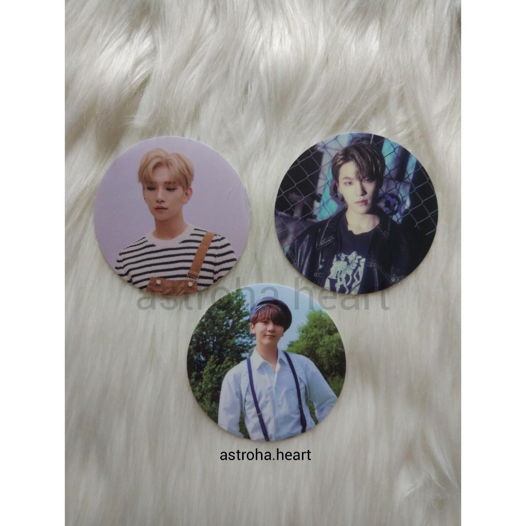 [Ready Stock] Seventeen 3rd Album An Ode Clear Sticker Dino Seungkwan Joshua
