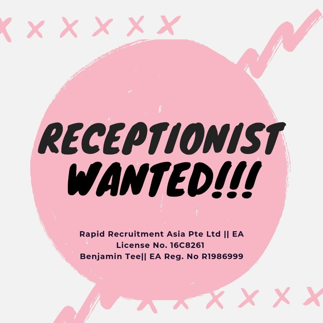 Receptionist @ East (Perm | Bonuses | UP $2000 | Start ASAP)