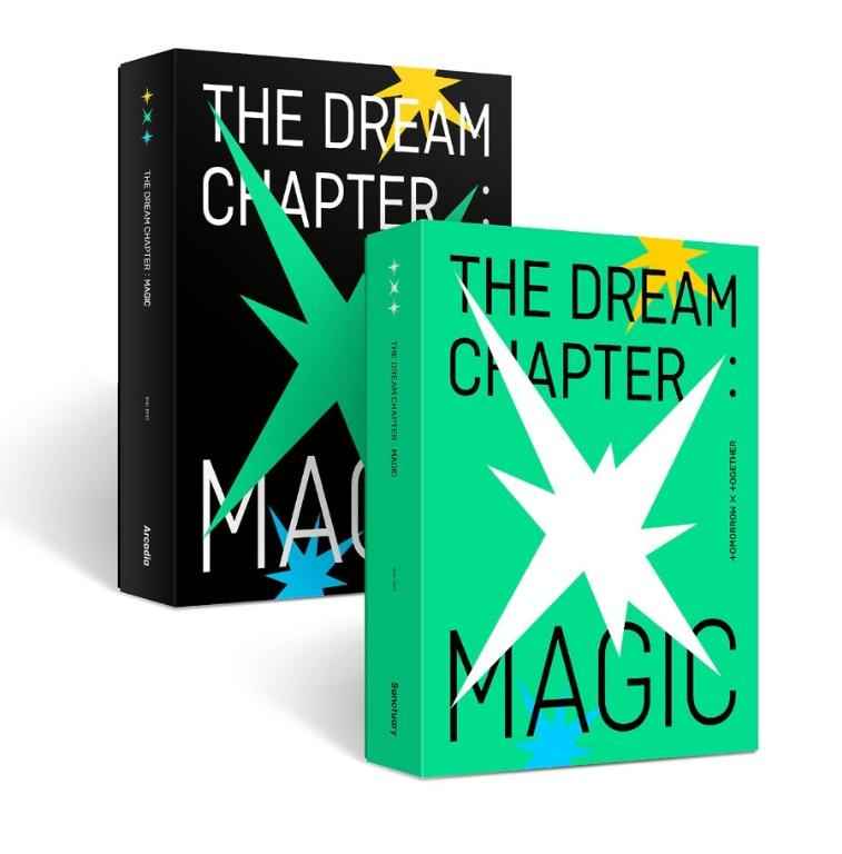 [SEALED & PREORDER] TXT ALBUM - THE DREAM CHAPTER: MAGIC