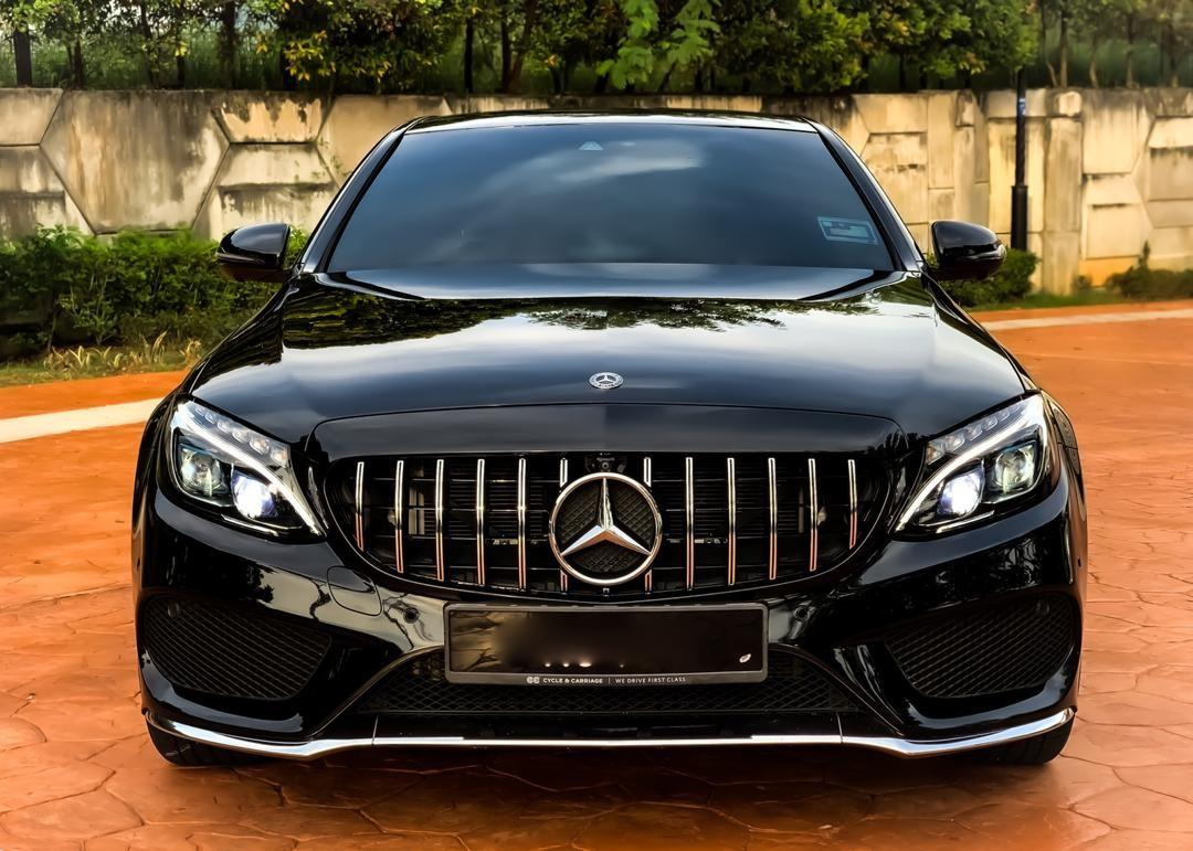 SEWA BELI>>MERCEDES BENZ C350E - W205 2.0 TURBOCHARGED (A) AMG FULL SPEC UNDER WARRANTY 2017