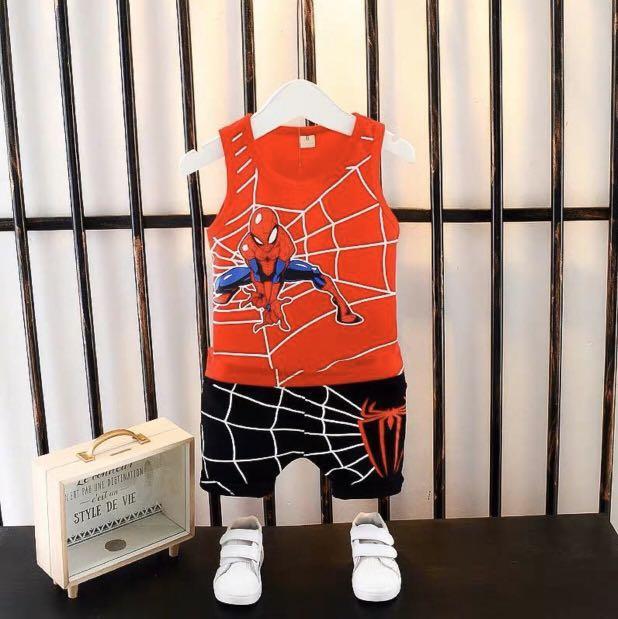 Spider-Man sleeveless set
