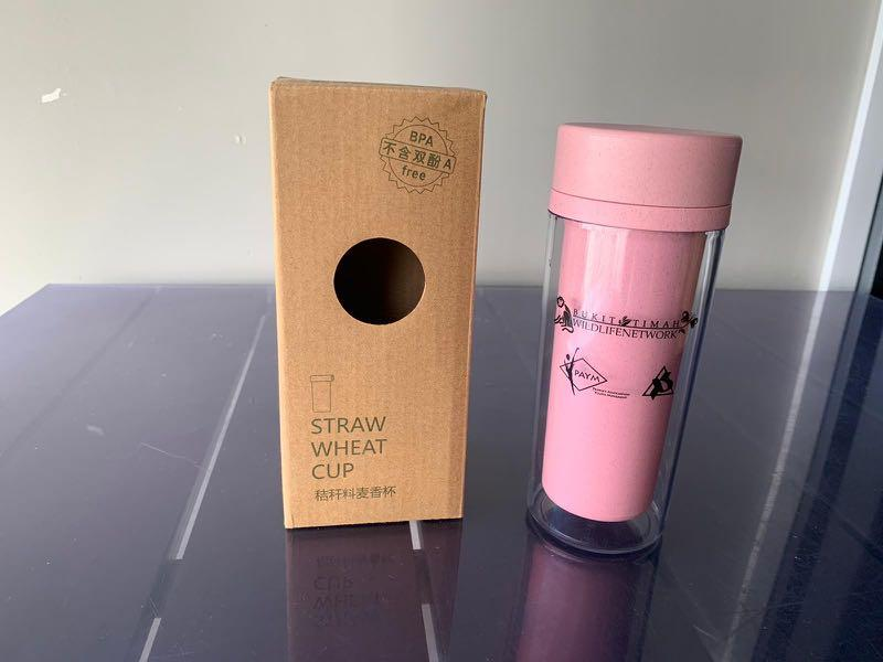 Straw wheat cup