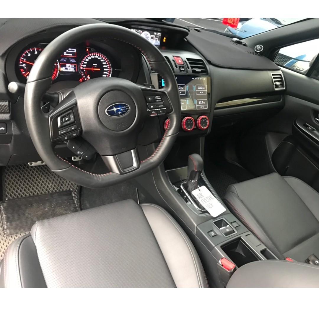 Subaru 2018 WRX 2.0 藍 超猛怪獸 精品改裝 可全貸 免頭款