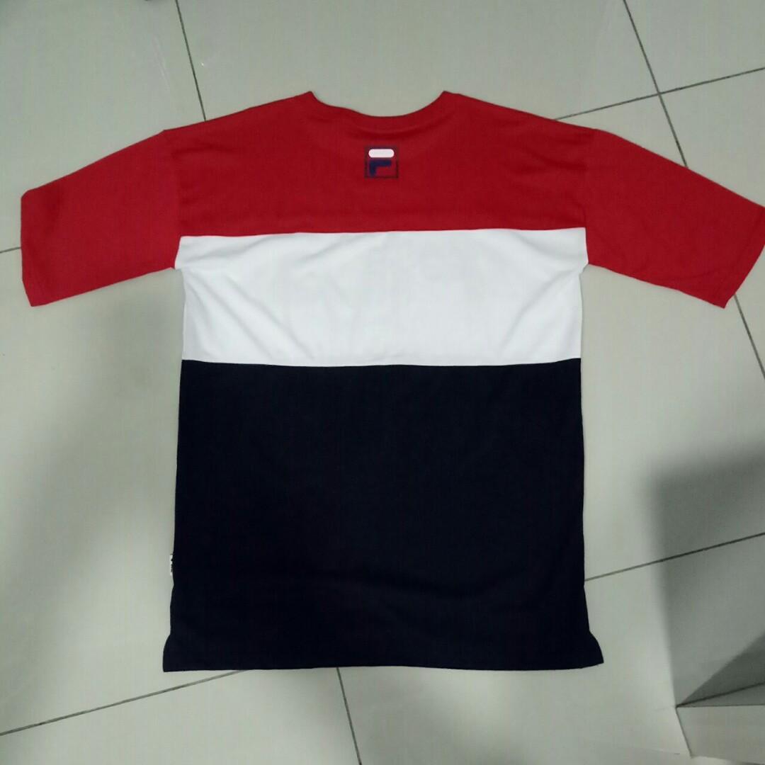[WTS]TAEMIN Fila T-shirt (SIZE L)