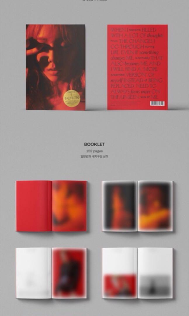 🌺TAEYEON(Girl's Generation)🌺PURPOSE ‼️DELUXE EDITION‼️