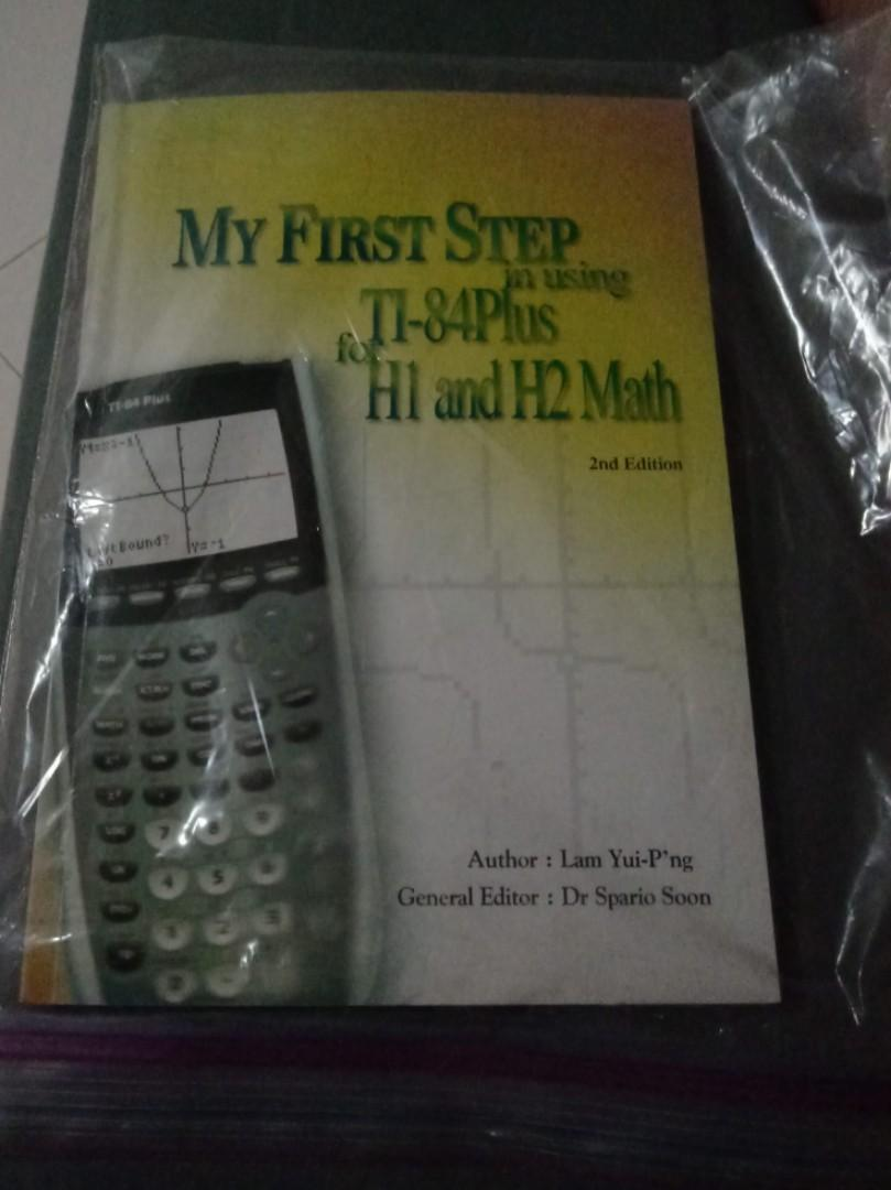 Ti-84 plus user guide for h1&2 math