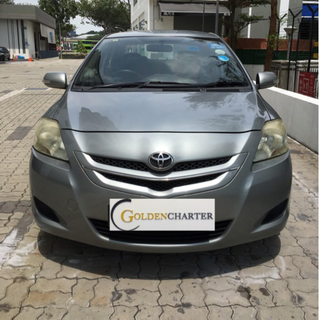 Toyota vios rental available. gojek rental rebate available