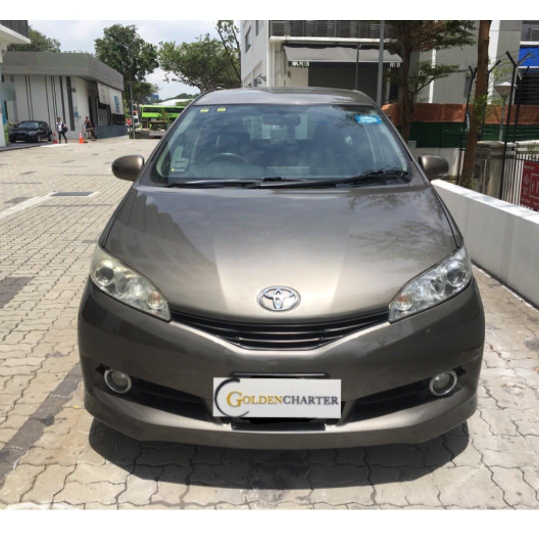 Toyota Wish For Rental| Personal|Grab|Gojek|TADA|Ryde| PHV ready with rental rebate