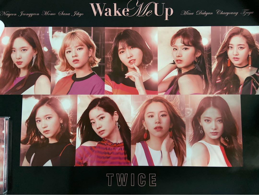 Wake Me Up [w/ DVD, Limited Edition / Type A] + POSTER (unsealed)