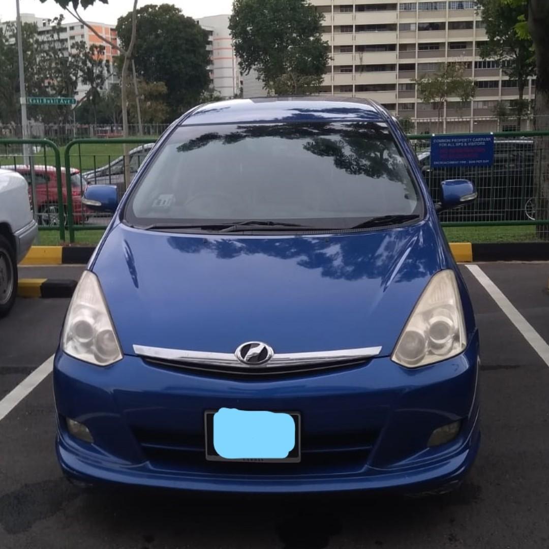 One Week CNY Rental Toyota Wish Honda Stream Toyota Vios Honda Fit