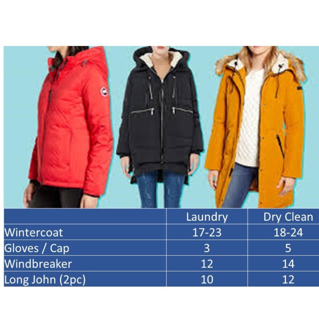 Winter Wear Laundry