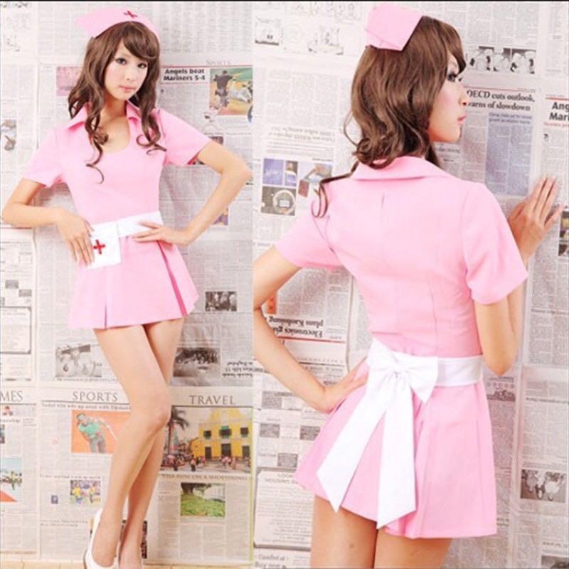 Women Sexy Lingerie Nurse Costume Cosplay Erotic Lingerie Underwear Nurse Suit