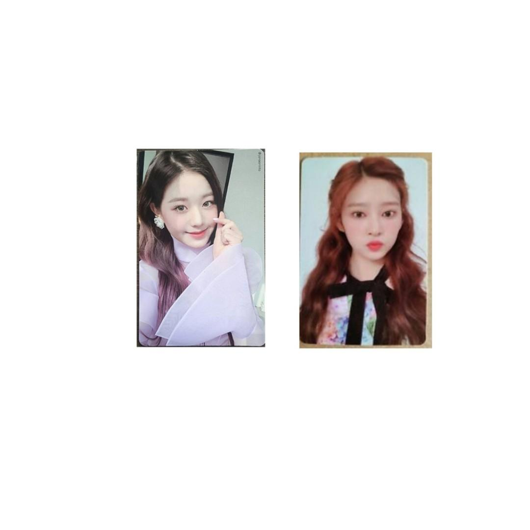 WTB// IZONE WONYOUNG MINJU OFFICIAL PHOTOCARD ( VIOLETA VERSION )