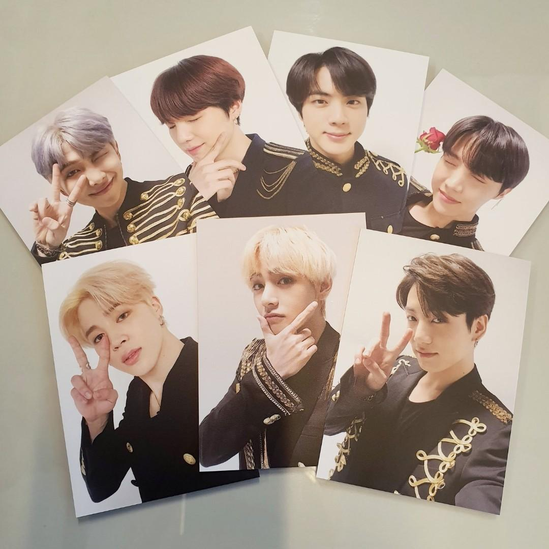[WTB/LF] BTS SYS The Final MD Jimin Memorial Label Tag Pc