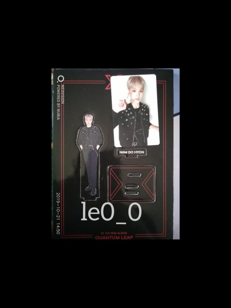 WTS X1 QUANTUM LEAP ALBUM DOHYON SET (NO BOOKMARK)