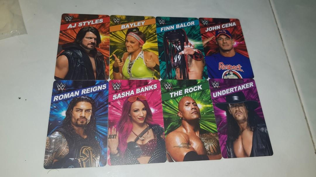 WWE Superstar Rumble (Timezone) Cards Set