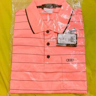 奧迪 台灣製 polo衫 透氣排汗