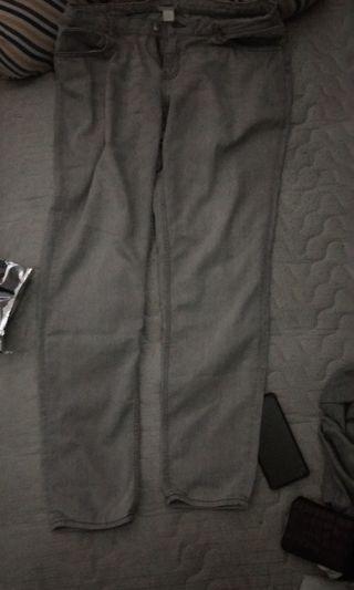 Celana H&m jeans blue