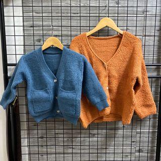 韓國中小童羊羔毛外套