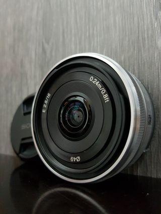 [MINT] Sony E 16mm f2.8