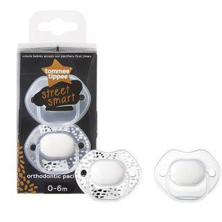 New - Tommee Tippee Empeng Meme Soother - White - 0-6 months