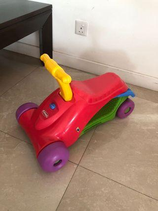Toy car and walker