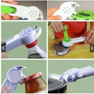 廚房用具 七合一多功能開瓶器 開罐器 開酒器  廚房神器