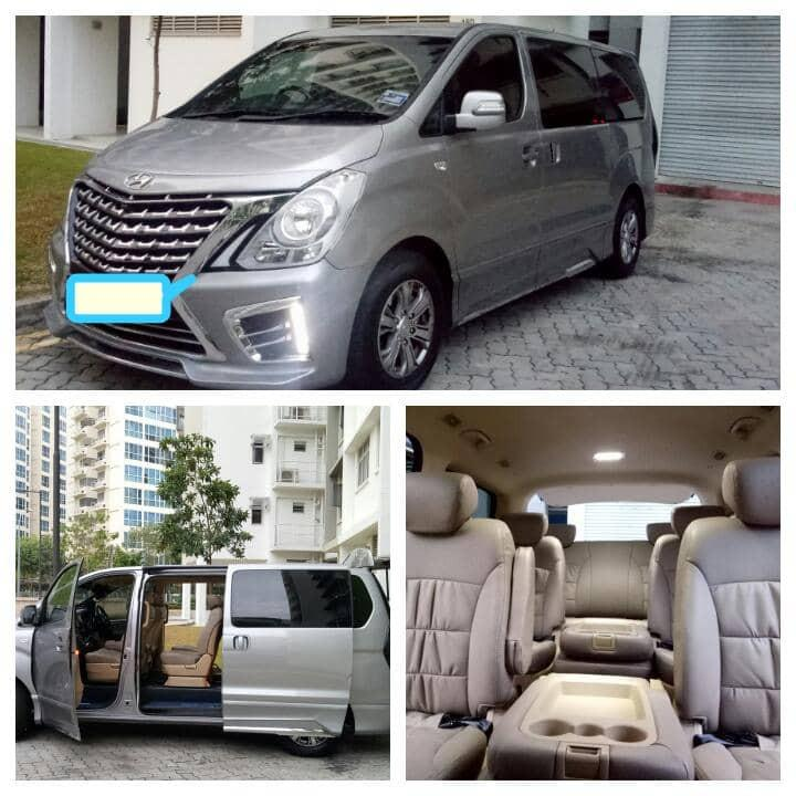 10 seater car available for transfer& tour sg jb( No Self Drive)