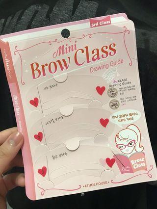 Etude House Eyebrow Drawing Guide