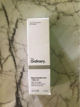 Ready stock Niacinamide The Ordinary