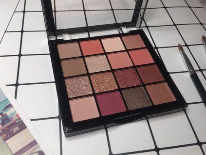 眼影盤16色(紫紅)化妝品
