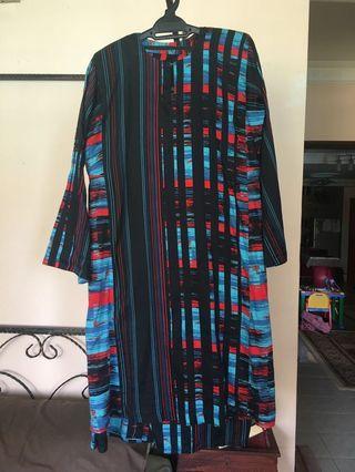 Baju Kurung Pahang Geometri