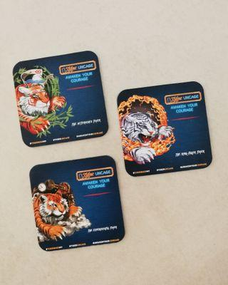 Tiger Beer Tiger Uncage Coasters